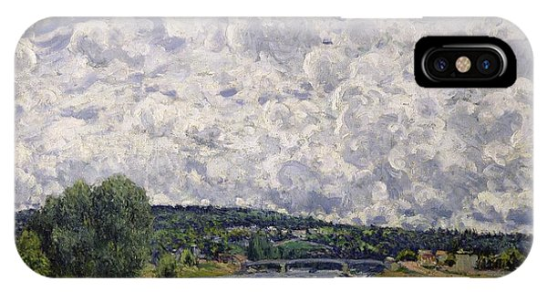 1877 iPhone Case - The Seine At Suresnes by Alfred Sisley