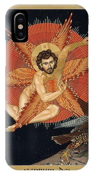 The Seraphic Christ - Rlsec IPhone Case