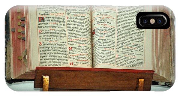 The Sermon Phone Case by Teresa Blanton