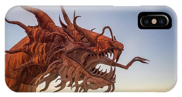 The Serpent At Sunrise #3 IPhone Case