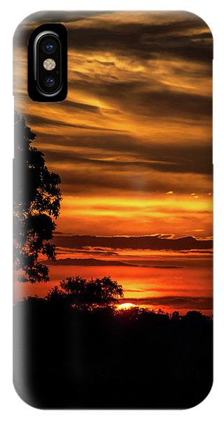 IPhone Case featuring the photograph The Setting Sun by Mark Dodd