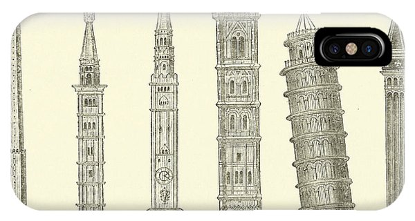 The Seven Great Towers IPhone Case