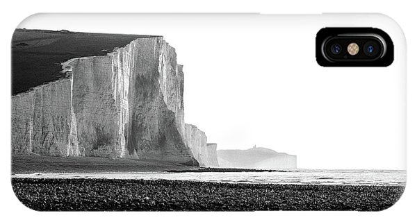 IPhone Case featuring the photograph The Seven Sisters, Sussex England  by Will Gudgeon