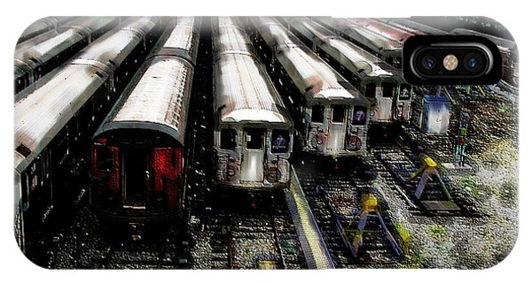 The Seven Train Yard Queens Ny IPhone Case