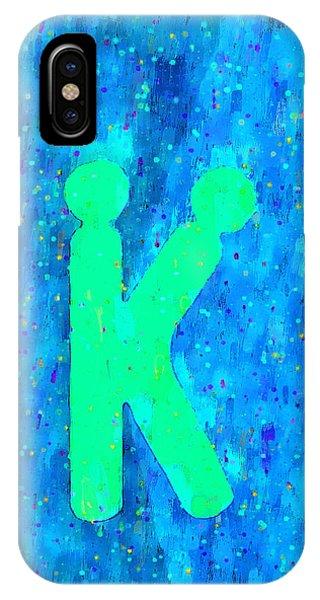 Having Fun iPhone Case - The Sexy K  - Green -  - Da by Leonardo Digenio