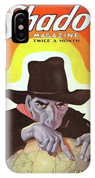 The Shadow Fingers Of Death IPhone Case