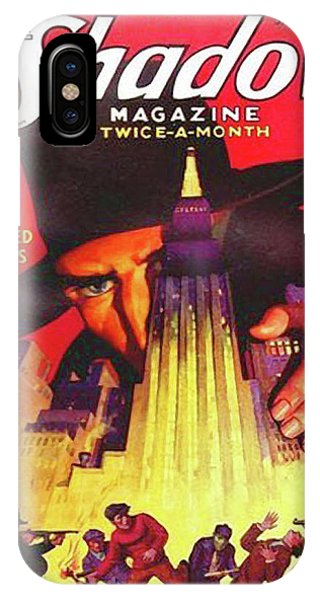 The Shadow Shadowed Millions IPhone Case