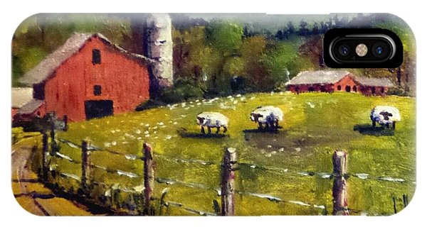 The Sheep Farm IPhone Case