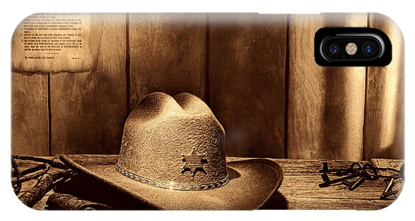 The Sheriff Office IPhone Case