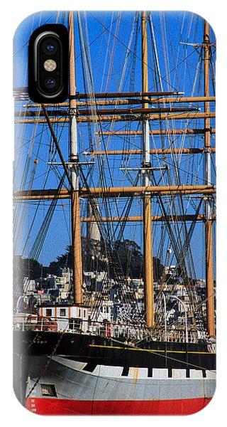 The Ship Balclutha IPhone Case