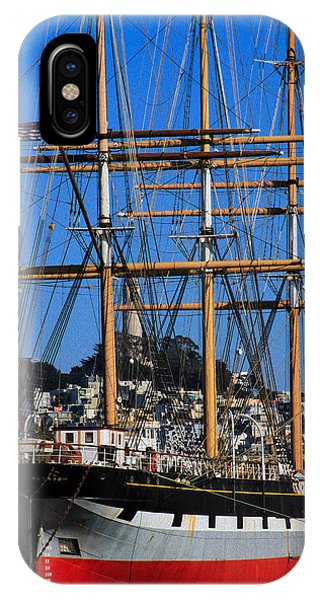The Ship Balclutha IPhone Case