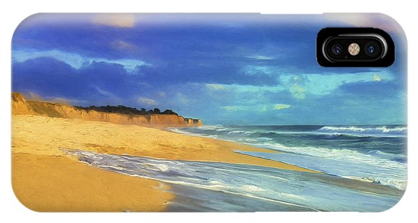 The Shoreline At Half Moon Bay IPhone Case