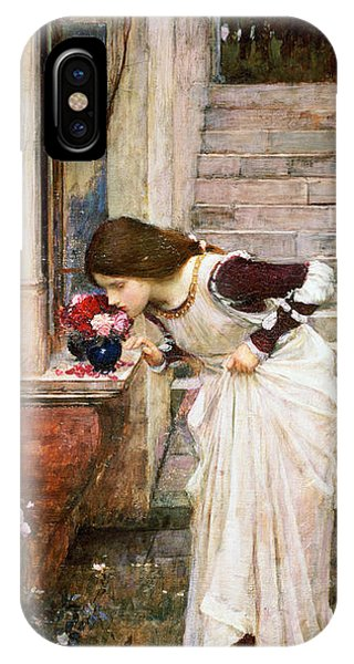 Scent iPhone Case - The Shrine by John William Waterhouse