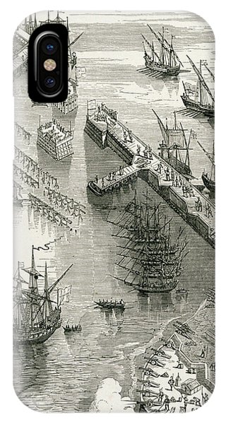 The Siege Of Rochelle IPhone Case
