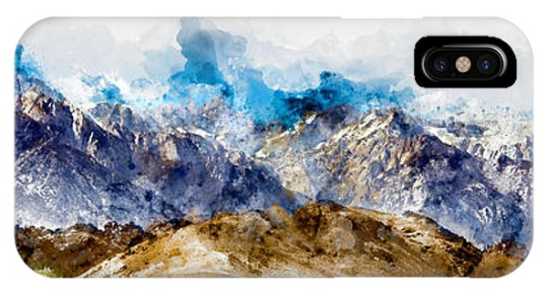 The Sierras IPhone Case