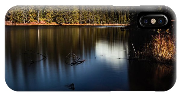 The Silence Of The Lake IPhone Case