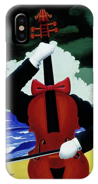 The Silent Soloist IPhone Case