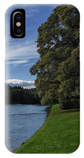 The Silvery Tay By Dunkeld IPhone Case