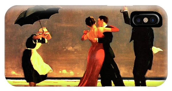 Jack iPhone Case - The Singing Butler by Jack Vettriano