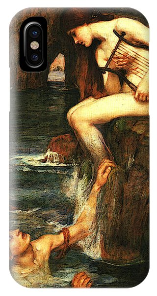 The Siren A IPhone Case