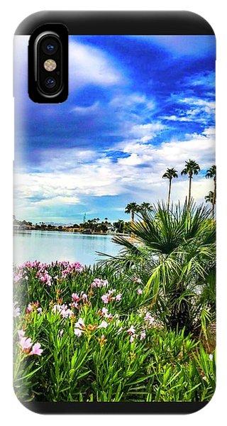 Water Ski iPhone Case - The Ski Lake  by Rick Reesman