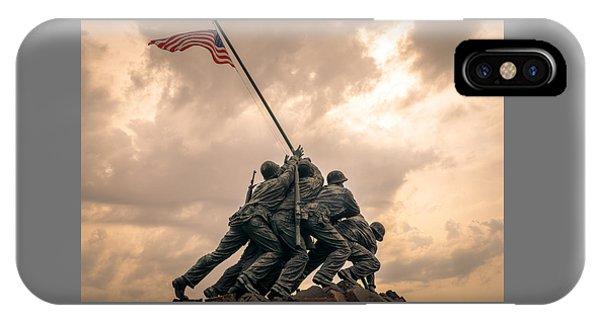 The Skies Over Iwo Jima IPhone Case