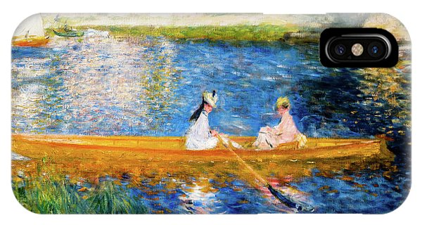 Boating On The Seine IPhone Case