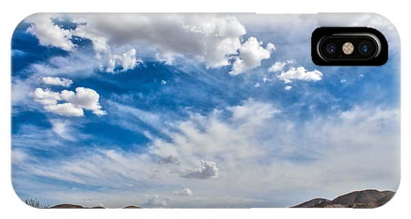IPhone Case featuring the photograph The Sky by Break The Silhouette