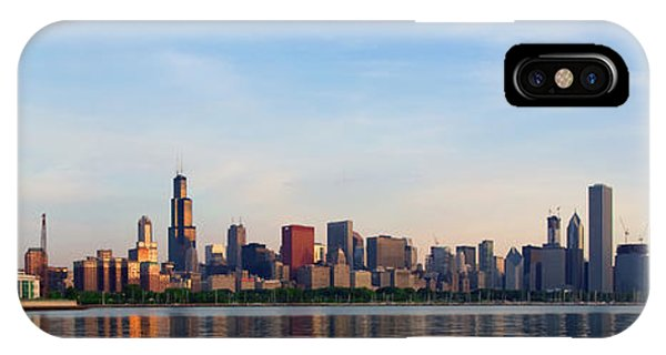 The Skyline Of Chicago At Sunrise IPhone Case