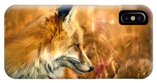The Sly Fox IPhone Case