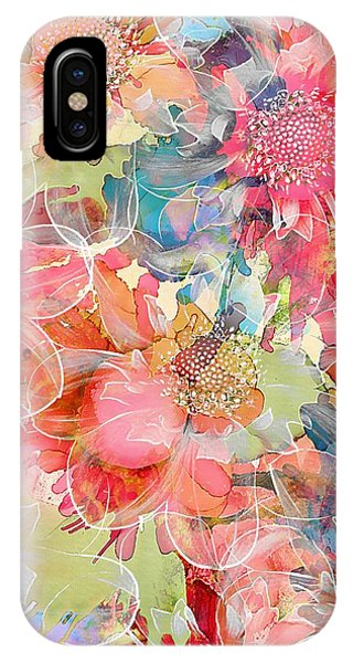 Pastel Colors iPhone Case - The Smell Of Spring by Klara Acel