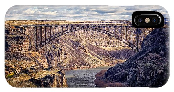 The Snake River At Twin Falls Idaho IPhone Case