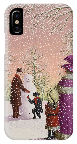 Ice iPhone Case - The Snowman by Peter Szumowski