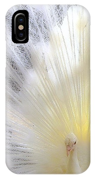 The Softer Side Of White IPhone Case