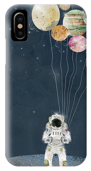 Solar System iPhone Case - The Solar Collector by Bri Buckley