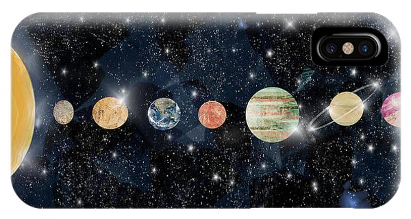 Space iPhone Case - The Solar System by Bri Buckley
