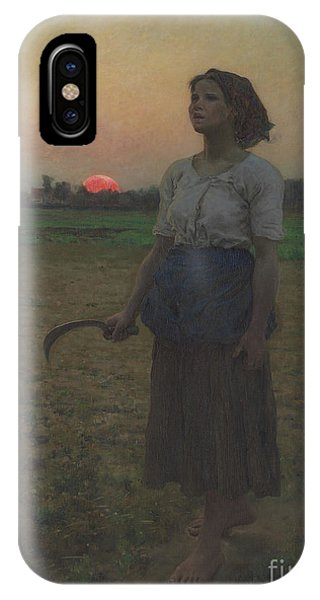 Agriculture iPhone Case - The Song Of The Lark by Jules Breton
