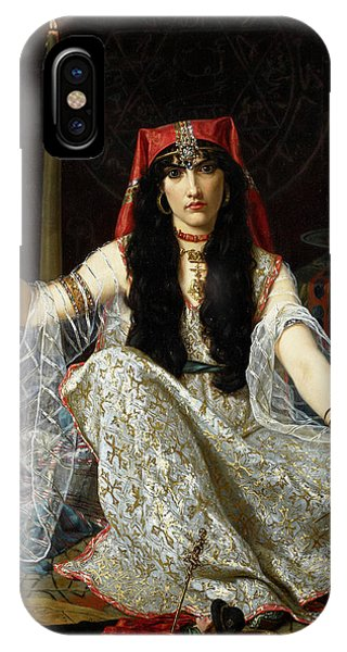 Voodoo iPhone Case - The Sorceress by Georges Merle
