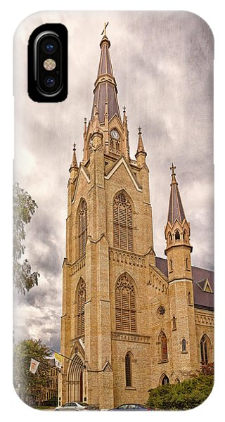 The Soul Of The Campus IPhone Case