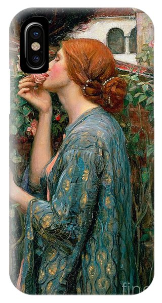 Scent iPhone Case - The Soul Of The Rose by John William Waterhouse