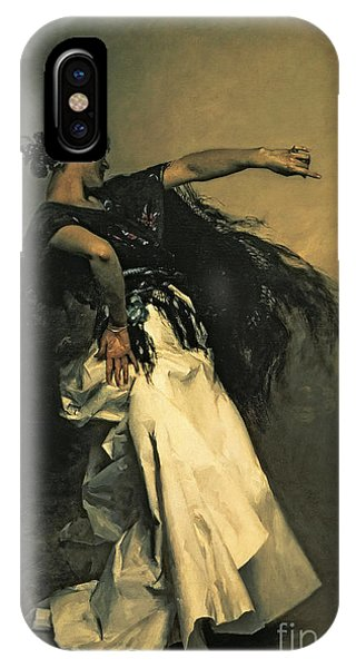Dance iPhone Case - The Spanish Dancer by John Singer Sargent
