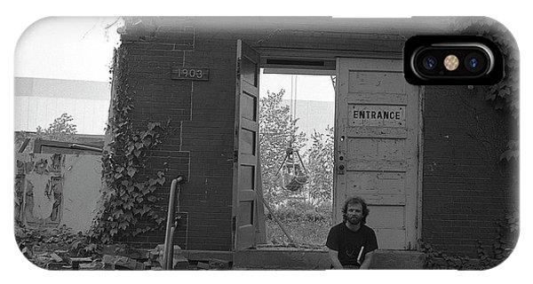 The Speech Annex And Peter Steven, Full Frame, 1980 IPhone Case