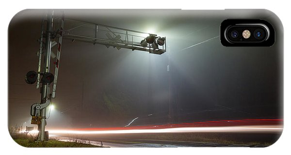 IPhone Case featuring the photograph The Speed Of Light by Brian Hale