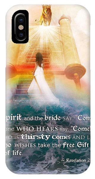 The Spirit And The Bride IPhone Case