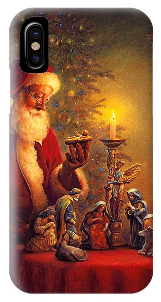 Santa Claus iPhone Case - The Spirit Of Christmas by Greg Olsen