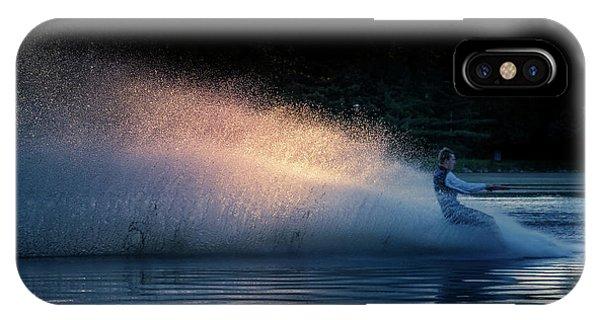 Water Ski iPhone Case - The Splash by Art Spectrum