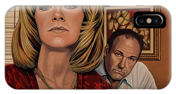Alabama iPhone Case - The Sopranos Painting by Paul Meijering