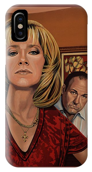 New Jersey iPhone Case - The Sopranos Painting by Paul Meijering