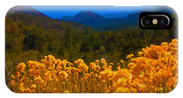 The Spring Mountains IPhone Case