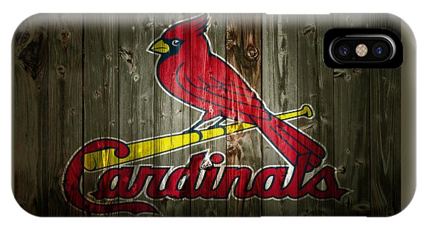 Grapefruit League iPhone Case - The St Louis Cardinals 2a by Brian Reaves